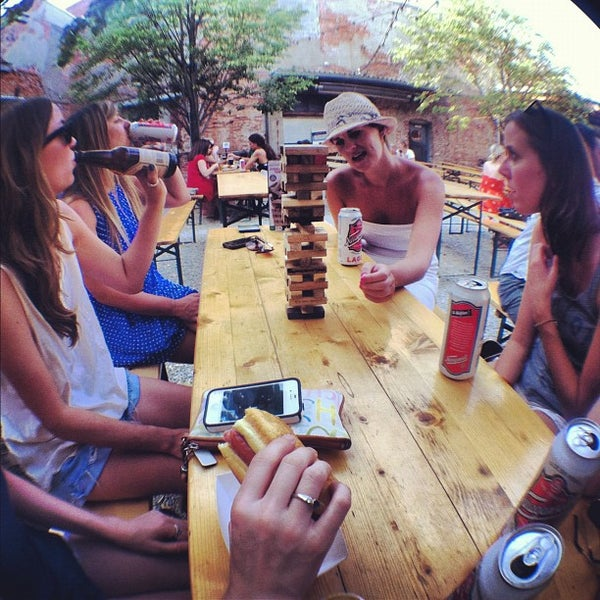 Photo taken at Frankford Hall by Andy O. on 7/4/2012