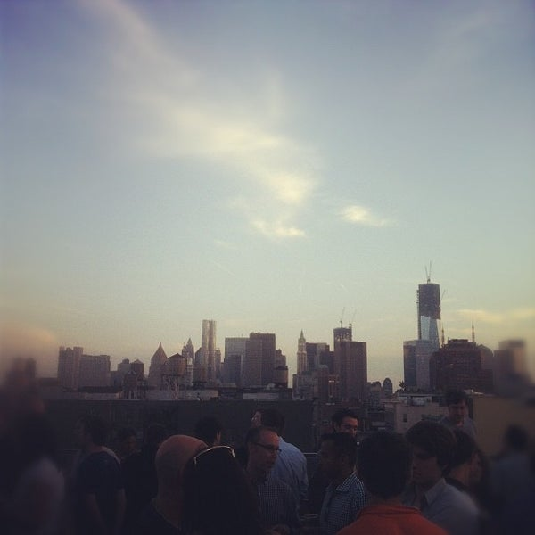 Photo taken at Meetup HQ Roof Deck by Peter B. on 6/15/2012