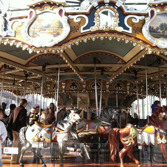 Photo taken at Jane's Carousel by Jen S. on 2/12/2012