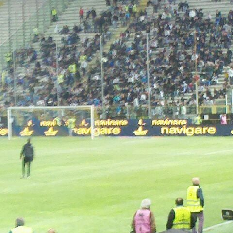 Photo taken at Stadio Ennio Tardini by Giulio C. on 5/2/2012