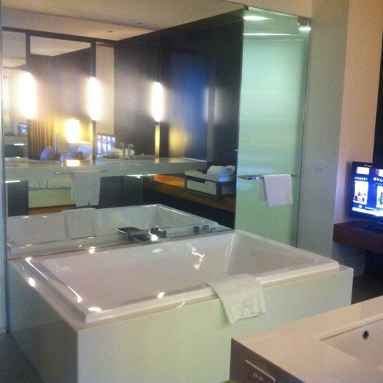 Photo taken at Crown Metropol Hotel by Garth L. on 9/5/2012