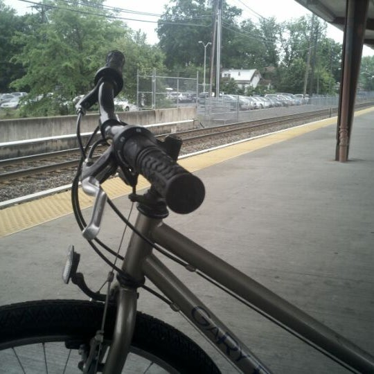 Photo taken at PATCO: Ashland Station by Howie S. on 5/22/2012