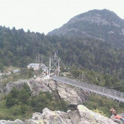 Photo taken at Grandfather Mountain by Sarah N. on 8/22/2011