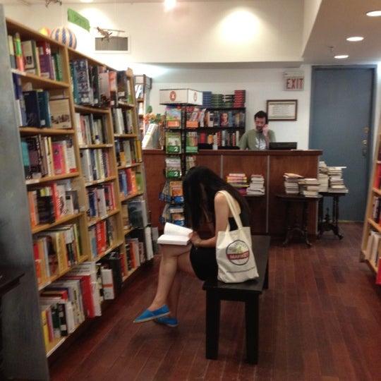 Photo taken at McNally Jackson Books by Gloria C. on 9/1/2012