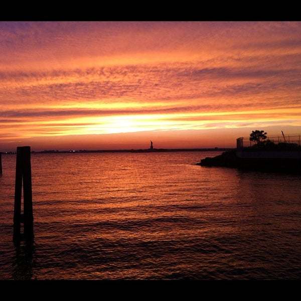 Photo taken at Louis Valentino Jr Park & Pier by Dave E. on 8/8/2012