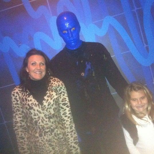 Photo taken at Blue Man Group at Universal CityWalk by Joe M. on 10/23/2011
