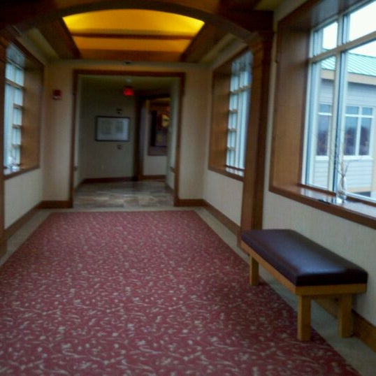 Photo taken at The Lodge at Turning Stone by Paula S. on 11/16/2011