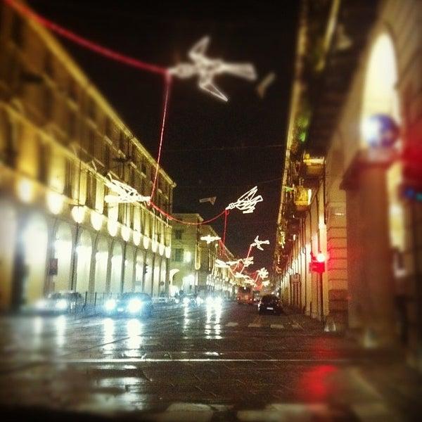 Photo taken at Via Po by Luca L. on 11/24/2011