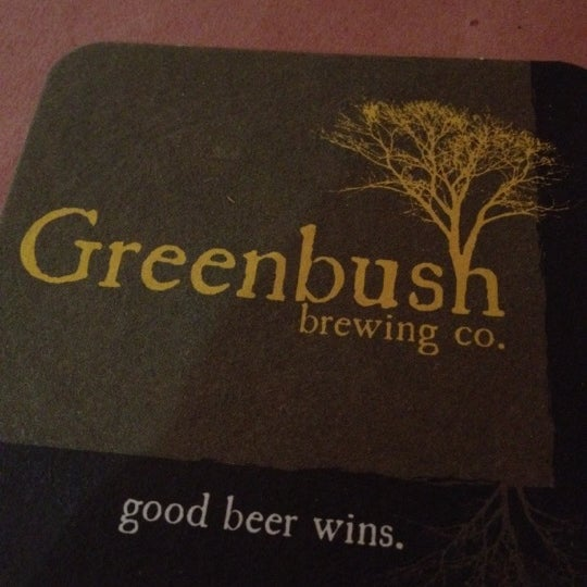 Photo taken at Greenbush Brewing Company by Tyler C. on 12/21/2011