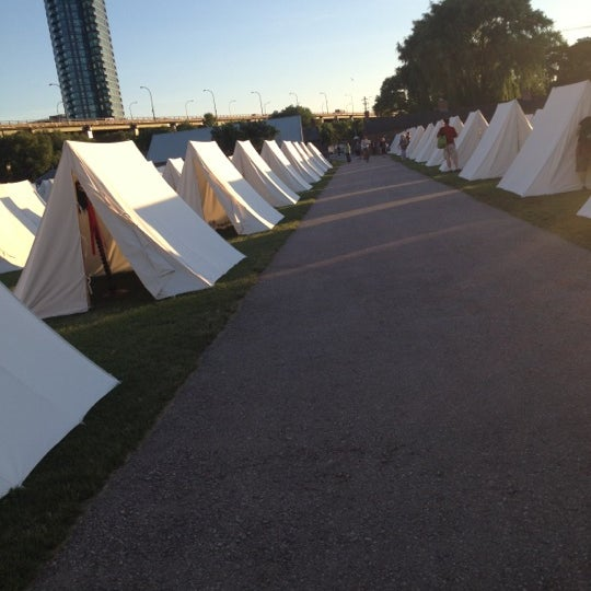 Photo taken at Fort York by Lauren P. on 6/15/2012