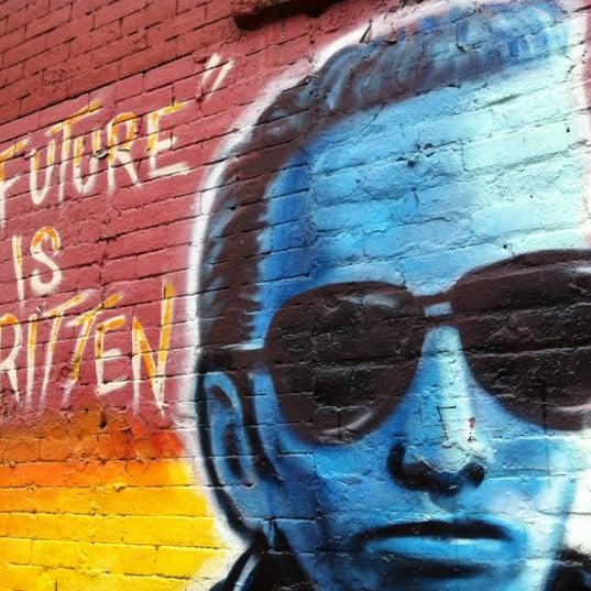 Joe strummer mural street art in alphabet city for Mural joe painting
