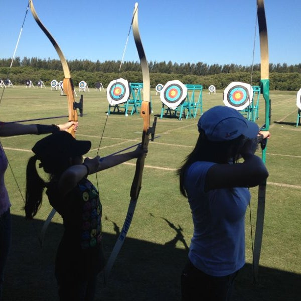 Photo Taken At Sydney Olympic Park Archery Centre By Huong T On 4 13