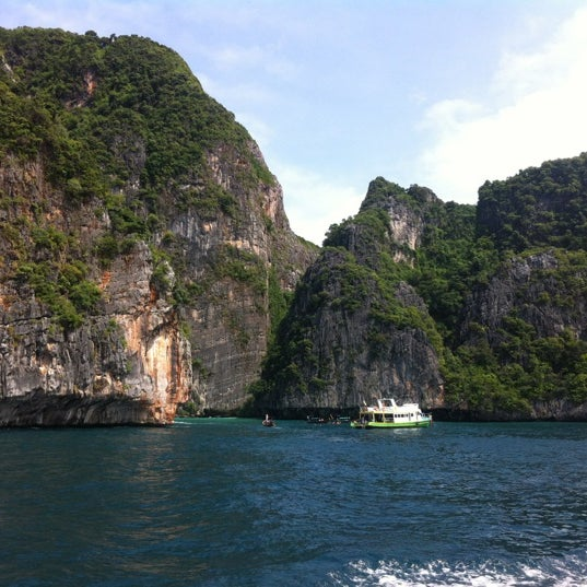 Photo taken at Phi Phi Island by Sims on 6/4/2012