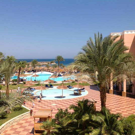 Photo taken at Albatros Palace Resort & Spa by Vera R. on 9/4/2012