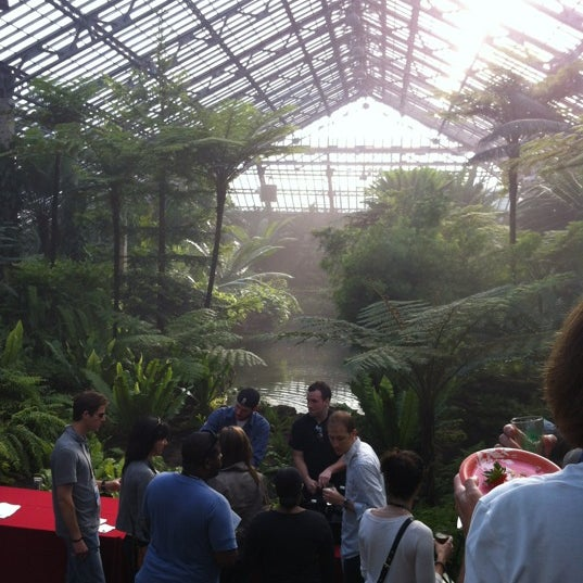 Photo taken at Garfield Park Conservatory by Brian S. on 5/17/2012