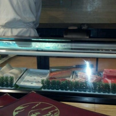 Photo taken at Mt. Fuji Japanese Steak House by Colleen V. on 2/20/2012