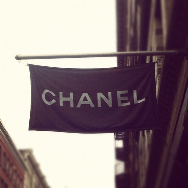 Photo taken at CHANEL by Lucky Magazine on 1/25/2012