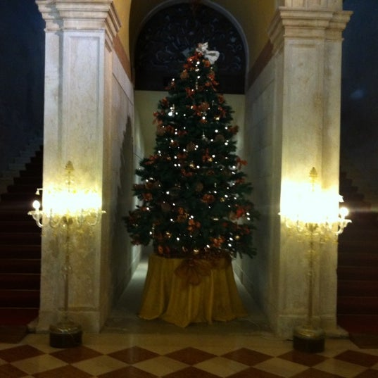 Photo taken at Ca' Sagredo Hotel Venice by cristina on 12/22/2011
