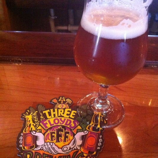 Photo taken at Three Floyds Brewery & Pub by Meagan O. on 5/22/2012
