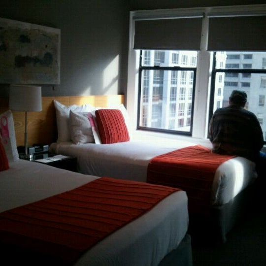 Photo taken at Hotel Max by barbara p. on 12/14/2011