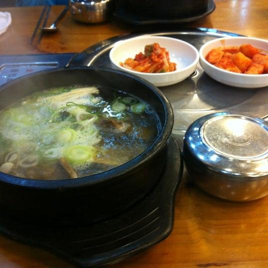 Photo taken at 청주본가 by 흥일 김. on 1/24/2012