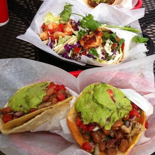 Photo taken at Nick's Crispy Tacos by Alden C. on 9/29/2011