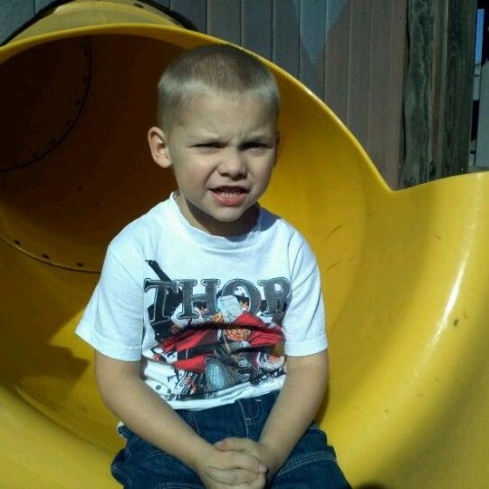 Photo taken at Annie's Playground by Chad D. on 10/5/2011