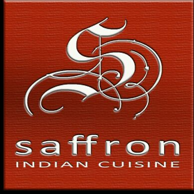 Photo taken at Saffron Indian Cuisine by Sunny C. on 1/3/2012