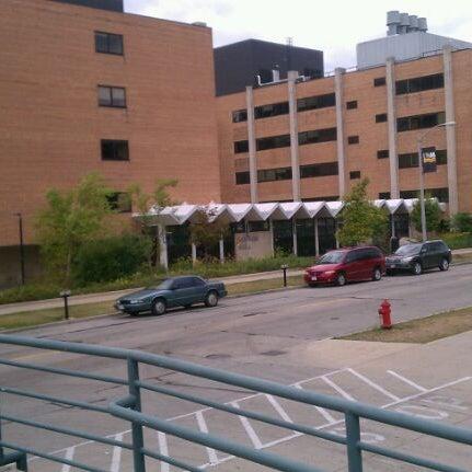 Photo taken at UWM Lapham Hall by Matt B. on 9/16/2011