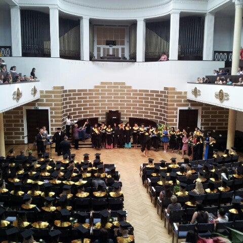 Photo taken at University of Latvia by Elīna N. on 6/27/2012