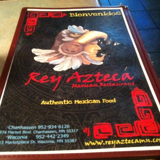 Photo taken at Rey Azteca Mexican Restaurant by Mike E. on 10/1/2011