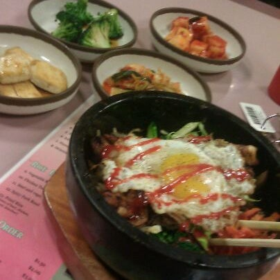Photo taken at Jun's House Korean Restaurant by Ron S. on 3/29/2012