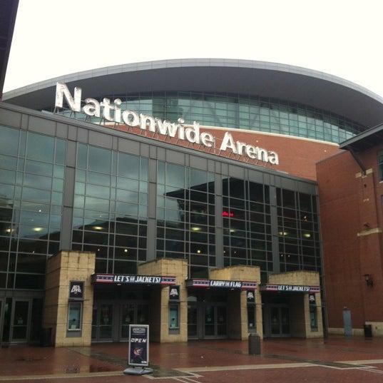 Photo taken at Nationwide Arena by Erik B. on 3/8/2012