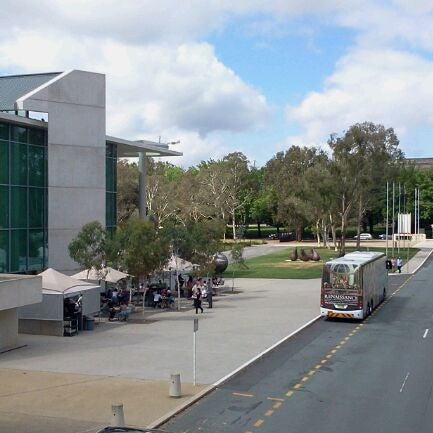 Photo taken at National Gallery of Australia by Anastassia S. on 1/21/2012
