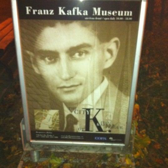 11/12/2011 tarihinde Lital S.ziyaretçi tarafından Franz Kafka Museum'de çekilen fotoğraf