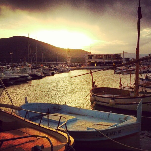 Photo taken at El Port de la Selva by Angel I. on 8/11/2012