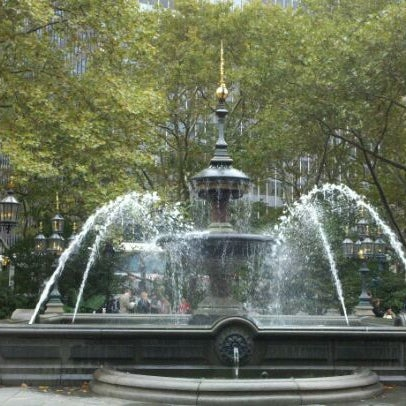 Photo taken at City Hall Park by Annie B. on 10/21/2011
