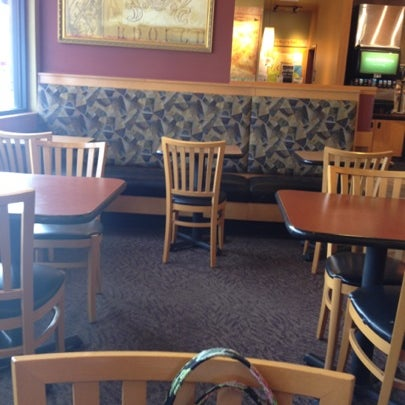 Photo taken at Panera Bread by Marie D. on 8/18/2012