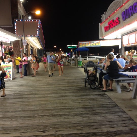 Photo taken at Point Pleasant Beach Boardwalk by Rob R. on 6/22/2012