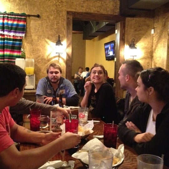 Photo taken at Los Hermanos Mexican Restaurant by Cathy T. on 12/24/2011