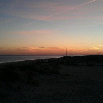 Photo taken at Praia do Barril by Bogdan L. on 12/18/2011