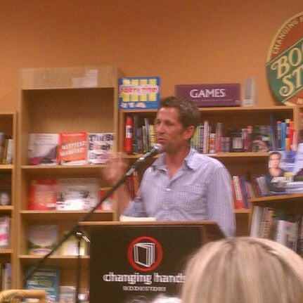 Photo taken at Changing Hands Bookstore by Greg E. on 8/18/2012
