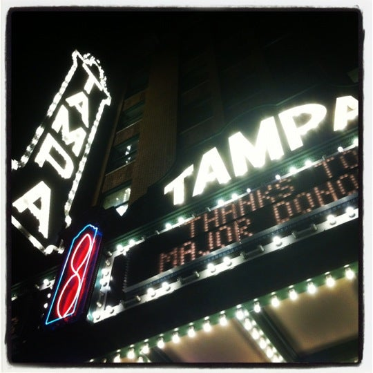 Photo taken at Tampa Theatre by Catherine on 1/19/2012