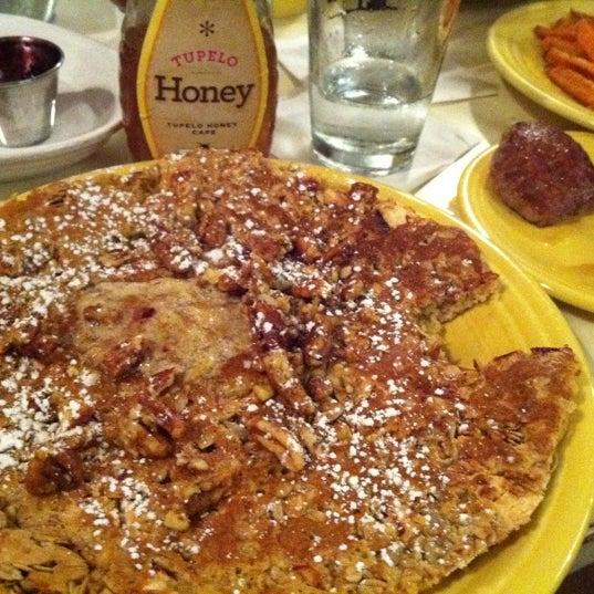 Photo taken at Tupelo Honey by Fiona S. on 1/11/2012