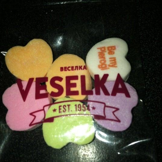 Photo taken at Veselka by Frani L. on 2/15/2012
