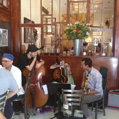 Photo taken at Atchafalaya Restaurant by Brandon B. on 7/29/2012