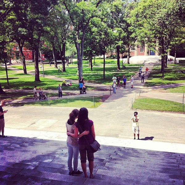 Photo taken at Widener Library by Arman S. on 6/9/2012