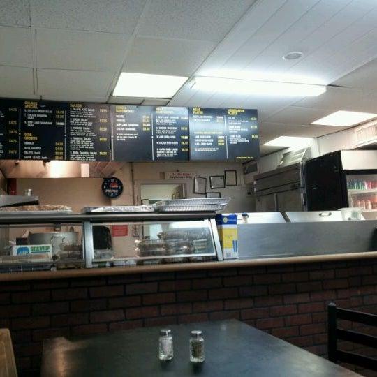 Photo taken at Falafel King by Chris C. on 1/16/2012