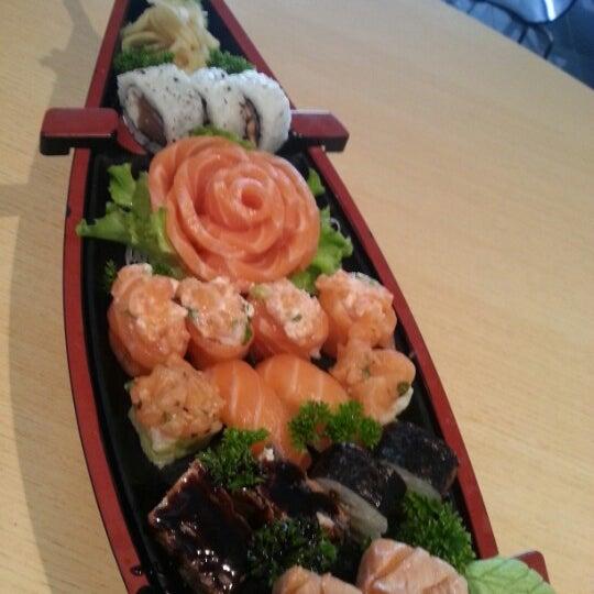 Photo taken at Joy Sushi by Samuel A. on 9/8/2012