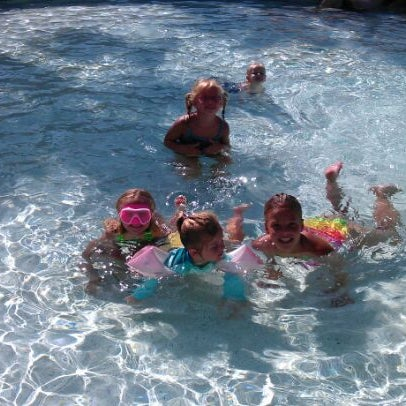 Photo taken at Marriott World Center Pool by Jen C. on 7/10/2012